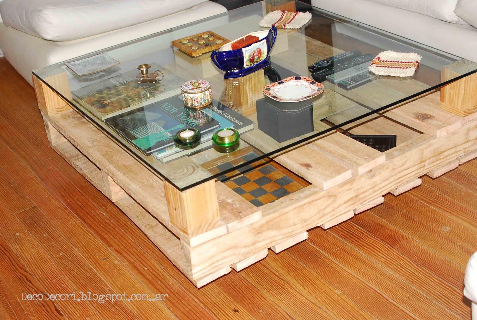 Mesa de pallet for Mesa palets ruedas