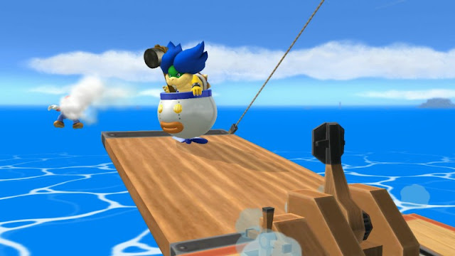 Pirate Ship catapult Super Smash Bros. For Wii U