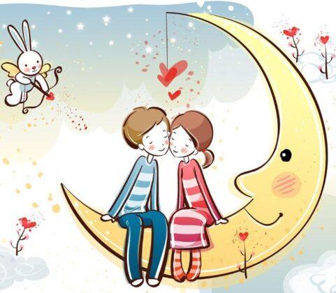 lovers cute dp