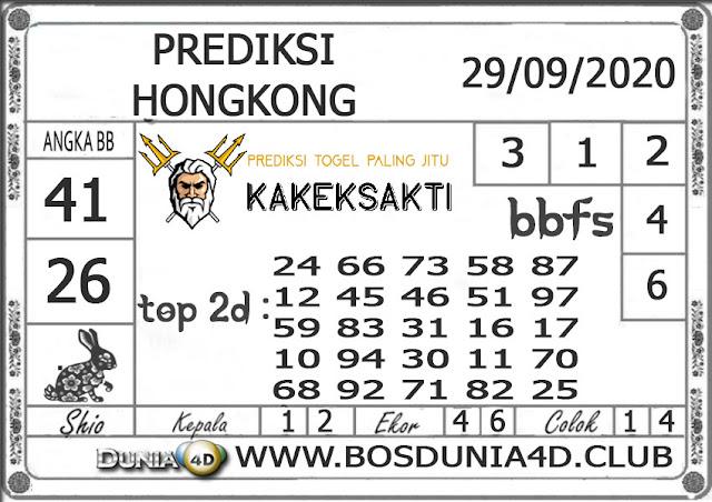 Prediksi Togel HONGKONG DUNIA4D 29 SEPTEMBER 2020