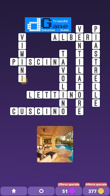 Soluzioni One Clue Crossword livello 19 schemi 2 (Cruciverba illustrato)  | Parole e foto