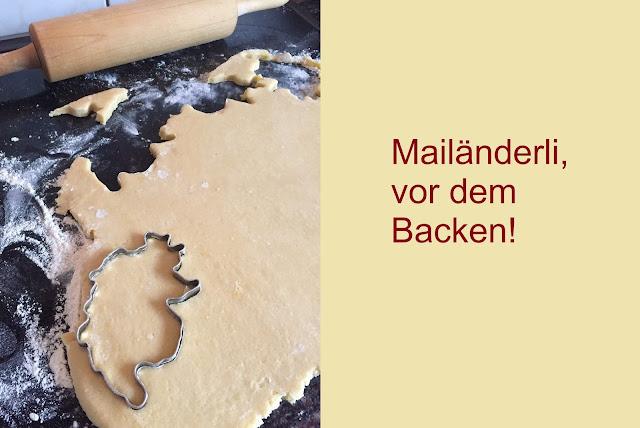 Mailänderli - Teig und Ausstechformen