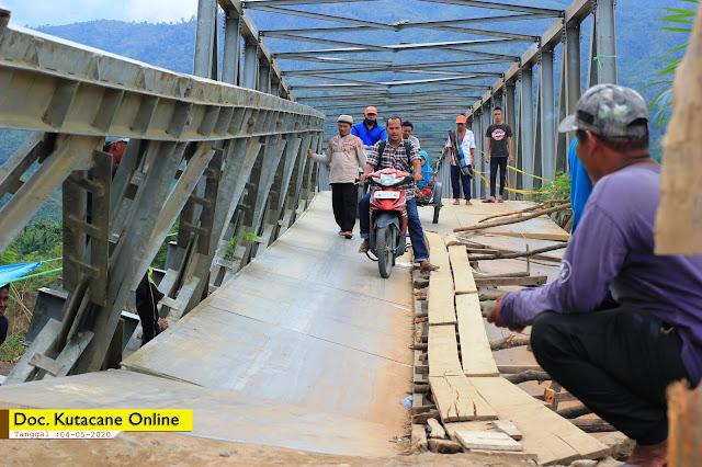 Photo : Jembatan Pante Dona ( Semadam - Tanoh Alas ) Kutacane - Aceh Tenggara (04/05/2020)