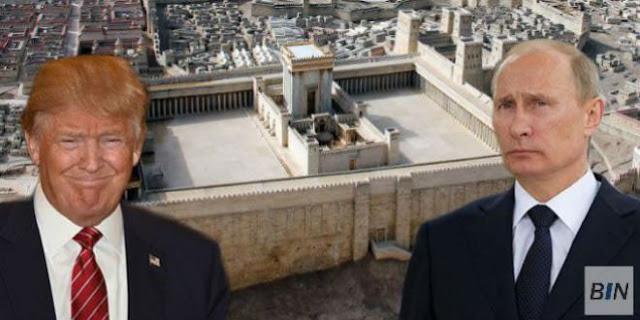 Η ΕΠΟΧΗ ΤΟΥ ΓΙΑΒΧΕ : Το ανώτατο ιουδαϊκό συμβούλιο (Σανχεντρίν) ζητεί από Πούτιν-Τράμπ να χτίσουν τον Τρίτο Ναό στην Ιερουσαλήμ
