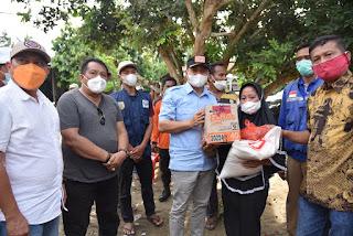 Bupati Batu Bara Kunjungi Lokasi Korban Terdampak Angin Puting Beliung