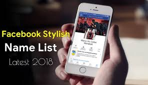 Stylish Fb Name For Girls And Boys 2018