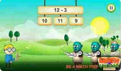Permainan Matematika Vs Undead