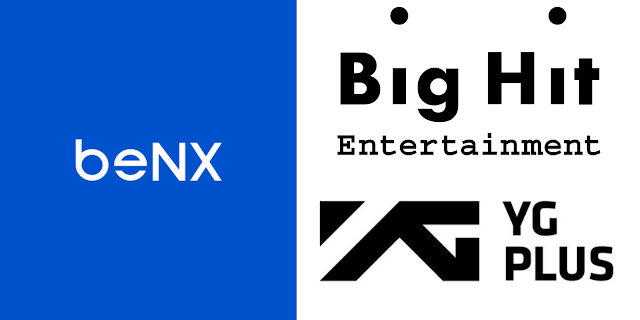 Bit Hit Entertainment y beNX invierten en YG PLUS