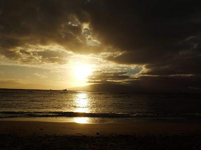 ラハイナの夕日2
