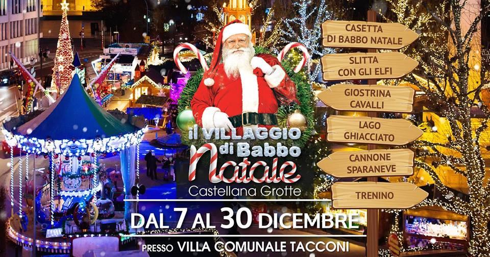 Villaggio Di Babbo Natale Italia.Il Villaggio Di Babbo Natale A Castellana Grotte Ba Dal 7