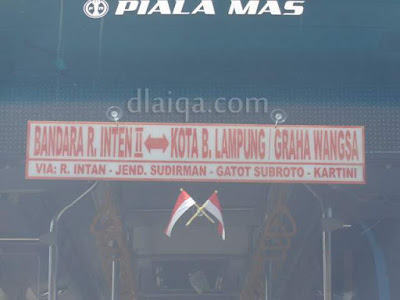 jurusan Bandara Raden Inten - Graha Wangsa