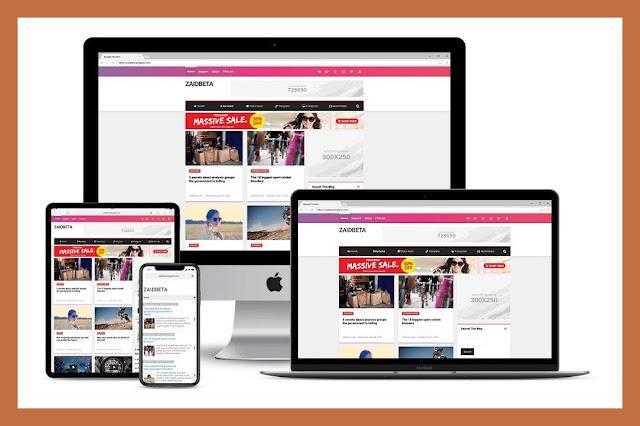 Piroamp AMP HTML Responsive Blogger Template