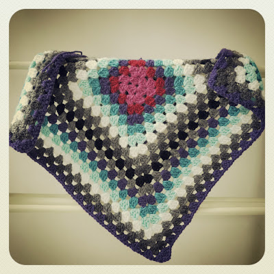 ByHaafner, crochet, big granny square