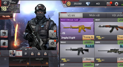 Gameplay của Crossfire Legends mang tính cổ điển