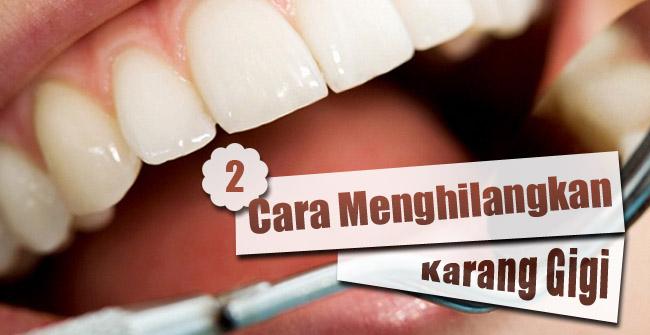 Cara Membersihkan Karang Gigi Dengan Kulit Kacang Berbagi
