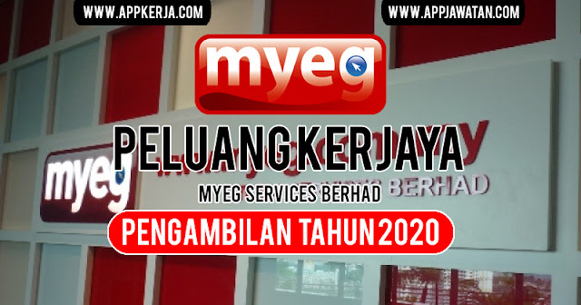 Jawatan Kosong Terkini di MyEG Services Berhad.