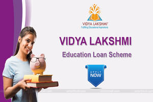 vidyalakshmi.co.in विद्या लक्ष्मी पोर्टल शिक्षा ऋण रजिस्ट्रेशन