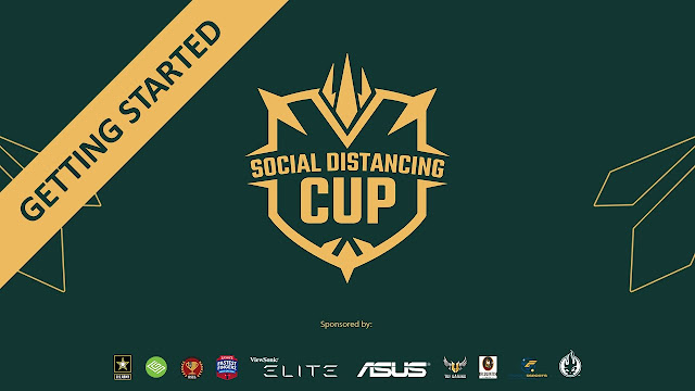 """Generation Esports' """"Social Distancing Cup"""" - a COVID-19 Relief Tournament and Fundraiser - Starts Today!"""