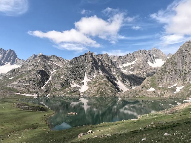How To Do Kashmir Great Lakes Trek Krishansar