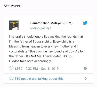 Senator Dino Malaye Tweet on twitter