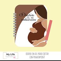 agenda, diario, imprimir, editar, embarazo, pdf, powerpoint