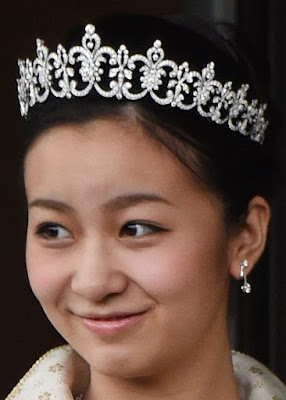 Diamond Tiara Princess Kako Akishino Japan Mikimoto