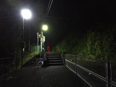 夜の無人駅 - 解説