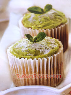 Cupcake Green Tea Lembut Di Mulut