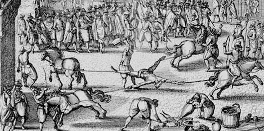 sejarah eksekusi mata dari masa ke masa