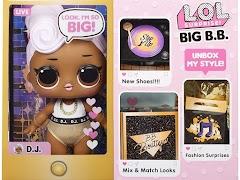 Большие пупсы LOL Surprise Big B.B. (Big Baby): малышки Bon Bon, Kitty Queen, D.J.
