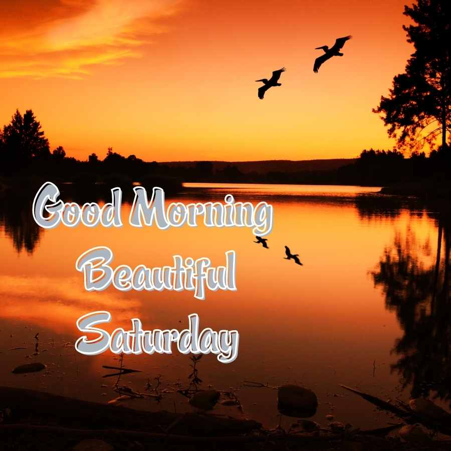 images of good morning saturday