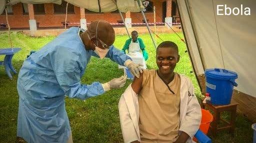 Contagious disease ebola.