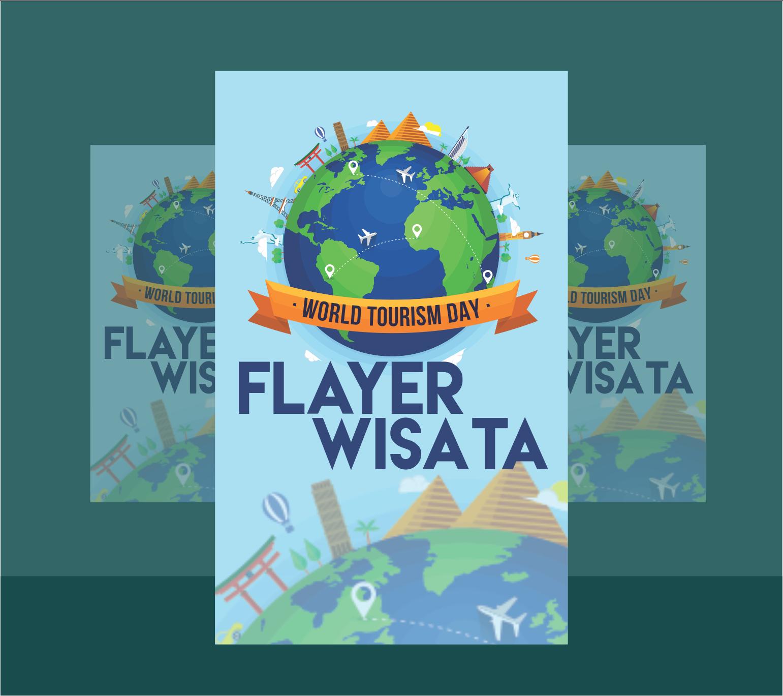 Download Cover Brosur Wisata -Cdr Free