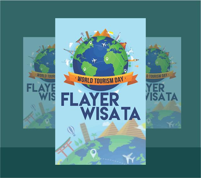 Download Flyer Wisata -Cdr Free