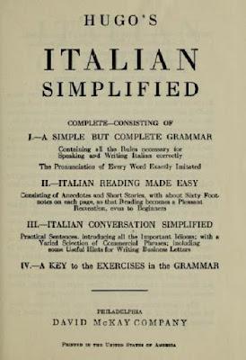 Hugo's Italian simplified complete