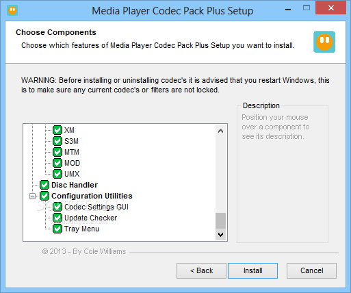Download Media Player Codec Pack 4.3.6