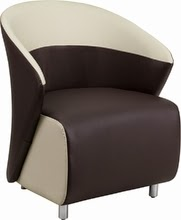 Two Tone Reception Chair