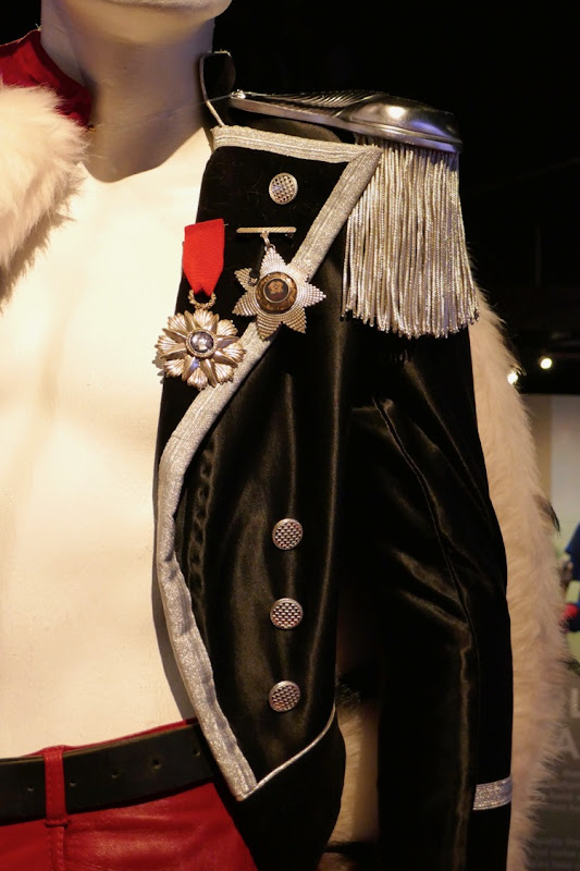 Freddie Mercury Bohemian Rhapsody royal costume detail
