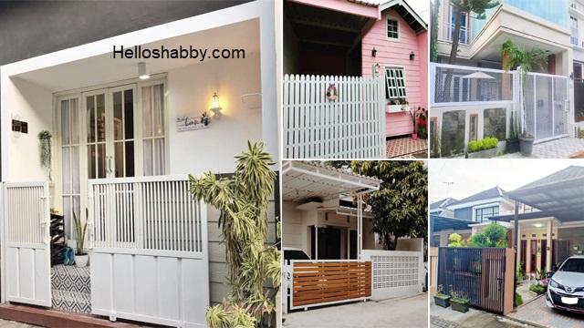 7 Model Pagar Rumah Minimalis Modern Bikin Rumah Aman Terlindungi Helloshabby Com Interior And Exterior Solutions