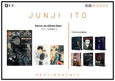 - Horror no shinen kara de Junji Ito