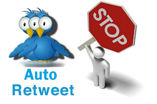 How To Stop Auto Retweet and Auto Following in Twitter
