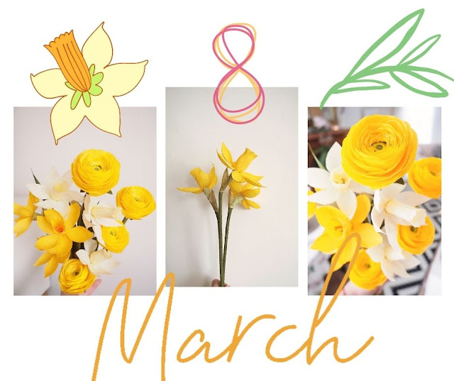 Spring! - Crepe Paper Eco Projekt