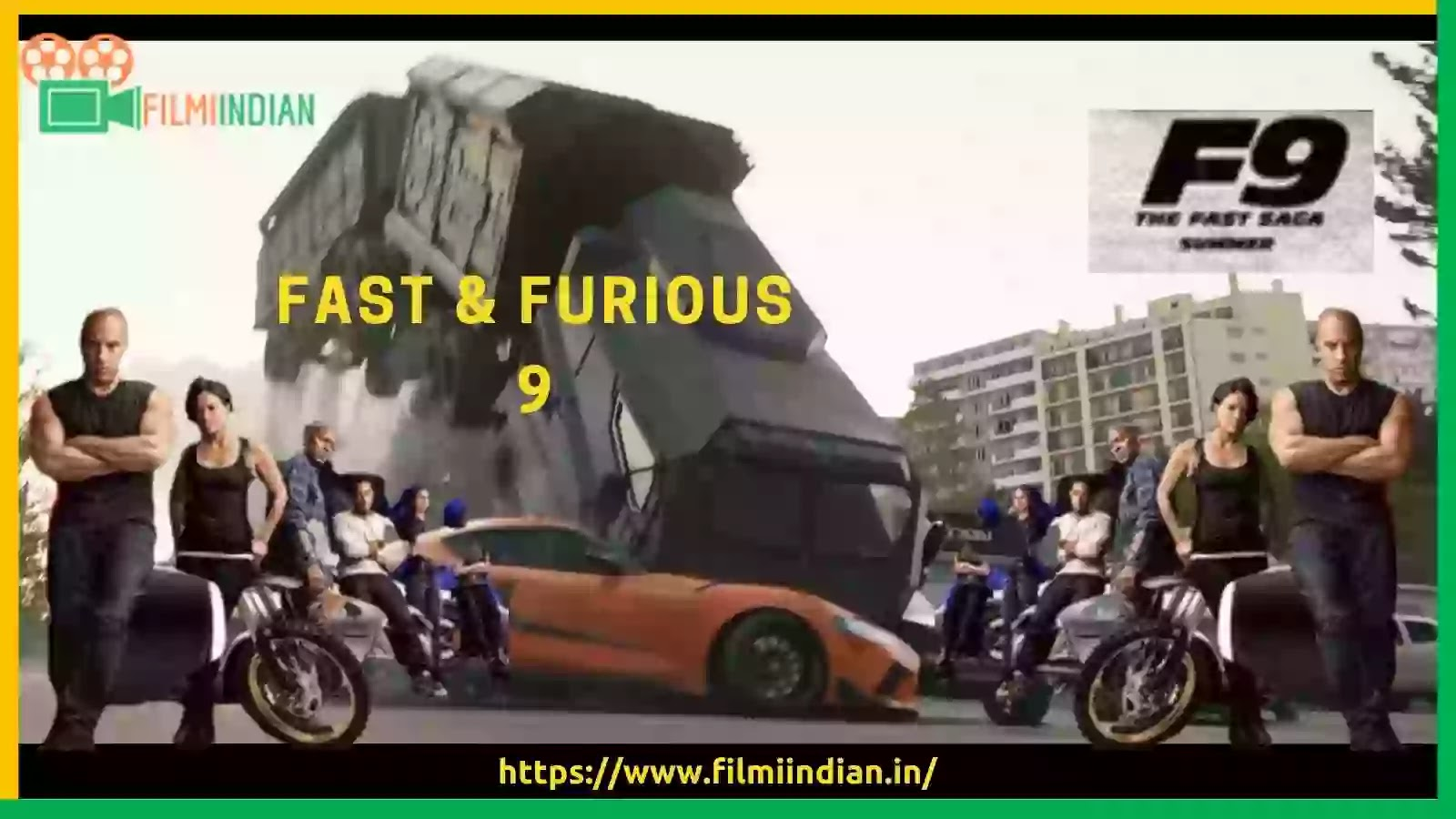 Fast and furious 9 : F9 (2020) Trailer : Best and Honest Review