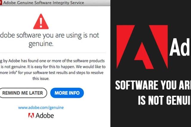 Adobe Genuine Software Integrity Service Fix Windows