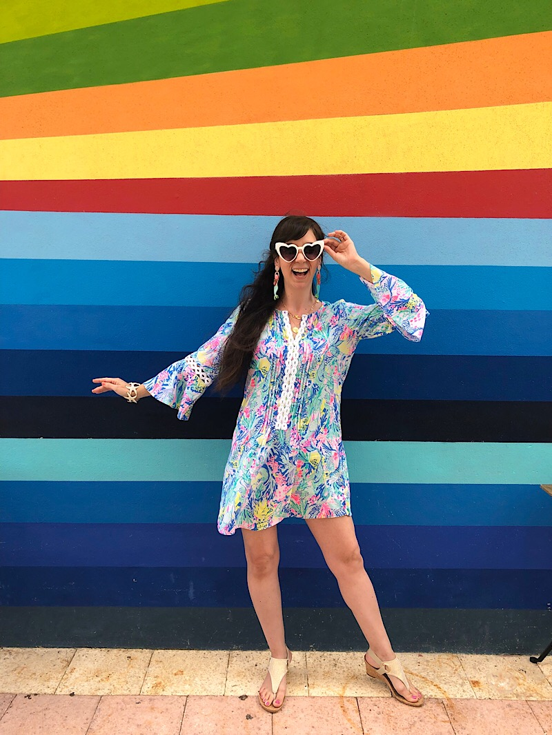 Lilly Pulitzer Mermaids Cove outfit