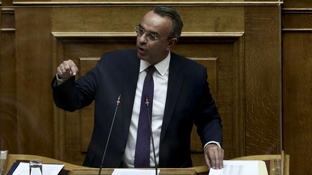 ΒΟΥΛΗ: Καταψηφίστηκε η πρόταση δυσπιστίας κατά του ΥΠΟΙΚ Χρήστου Σταϊκούρα