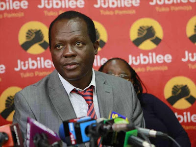 Jubilee Secretary general Raphael tuju. PHOTO | BMS