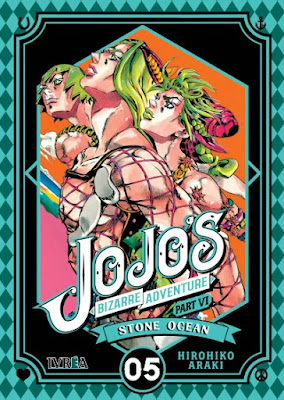 Reseña de JoJo's Bizarre Adventure Part VI: Stone Ocean vol 4 y 5, de Hirohiko Araki - Ivréa