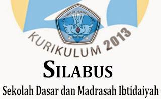 Silabus Kurikulum 2013 SD Kelas 1,2,3,4,5,6 Revisi 2016
