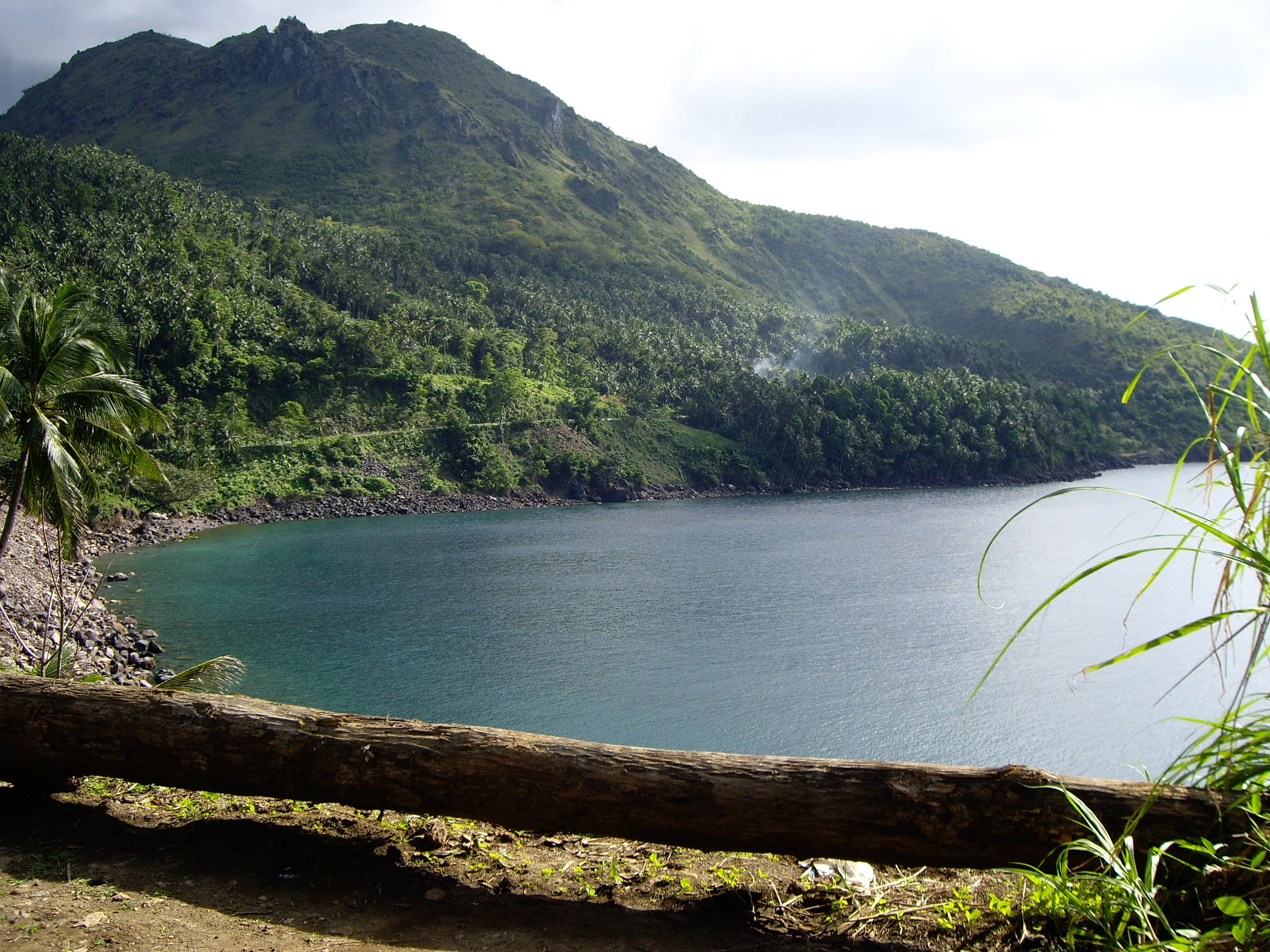 Breath taking view, Mountain of Camiguin Island that has lovers history.